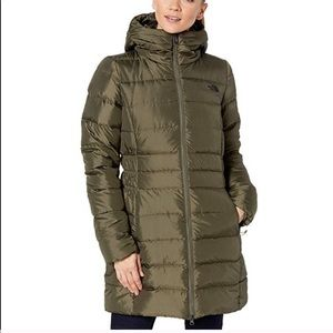 The North Face Gotham II Parka Taupe Green